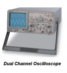 GOS-320/GOS-340/GOS-350 : Dual Channel Analog Oscilloscope