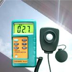 TM-207 : Solar Power Meter With Wire Sensor