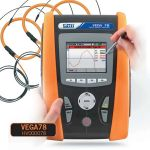VEGA78  :  Professional power quality analyzer for Single and Three phase  plants
