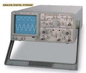 GOS-320D : ANALOG/DIGITAL STORAGE, DUAL CHANNEL 4 TRACE